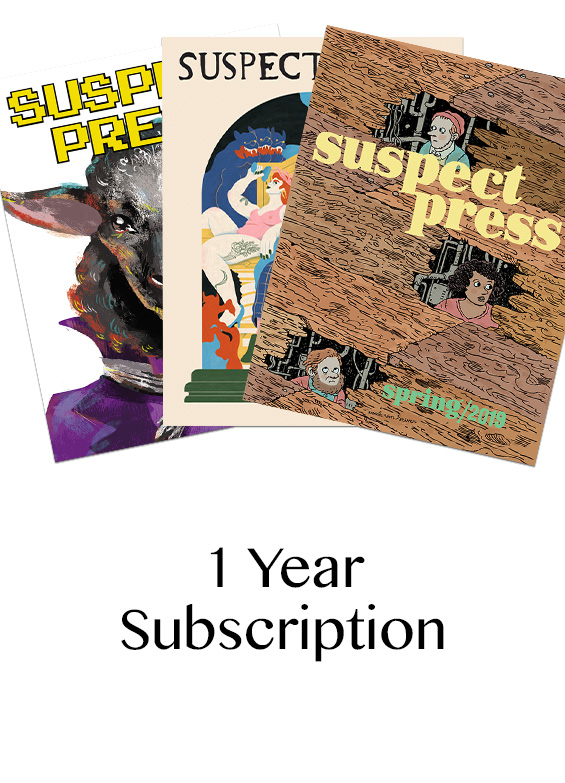 Suspect Press 1 Year Subscription